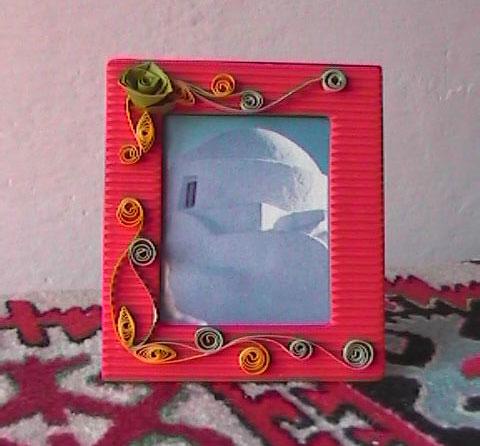 Mani fiori e fantasia artigianato creativo portafoto - Portafoto da tavolo ...